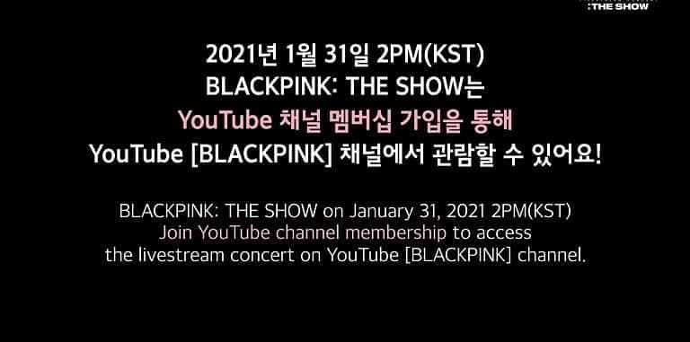 블랙핑크 콘서트